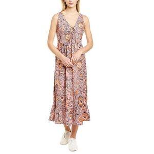 🆕 Madewell Bali Light Petal Midi Dress 10 NWT